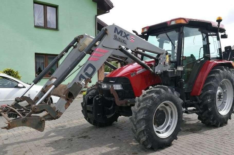 Naudoti traktoriai
