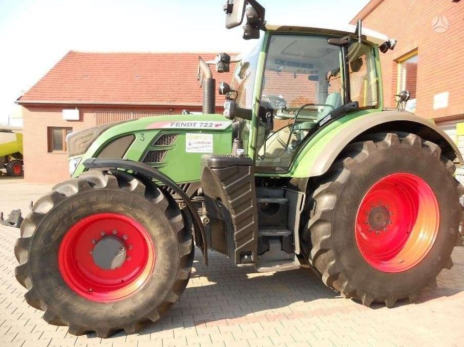 Naudotas traktorius Fendt 722 PROFI Vario