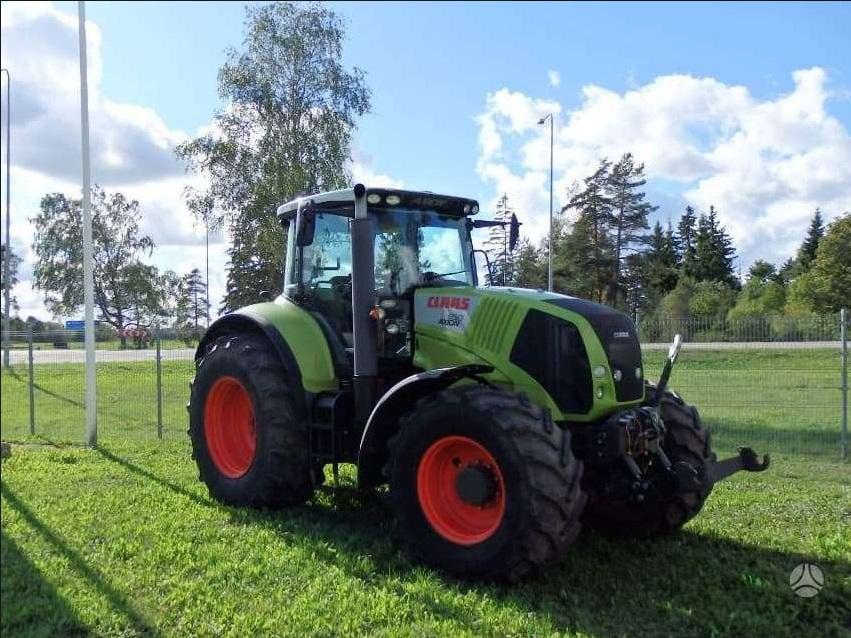 Naudota žemės ūkio technika CLAAS 850 cebis