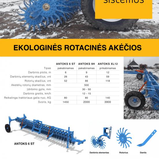 Ekologines rotacines akecios