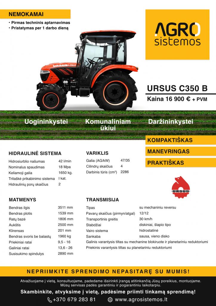 URSUS c350B
