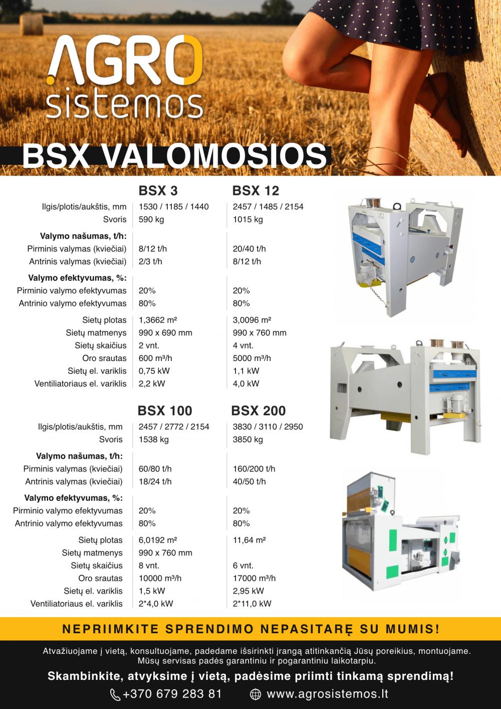 BSX valomosios